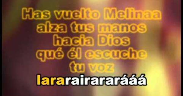Karaoke Camilo Sesto Melina Camilo Sesto Letras De Canciones Canciones