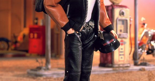 2000 Harley-Davidson® Barbie® Doll 4 | Barbie Collector, Designed by: Sharon Zuckerman