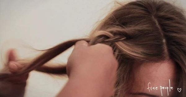 "summery beach braids how to by FreePeople. Music by Quiet Loudly ""You"