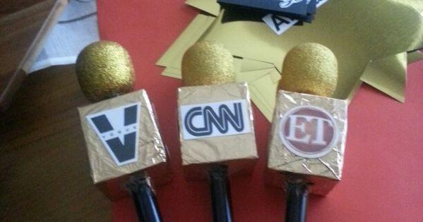 Microphones For Red Carpet Interviews Old Tea Bag Box