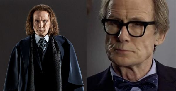 Actors Who Have Appeared In Harry Potter And Doctor Who Bill Nighy Harry Potter Doctor Who Doctor Who Episodes