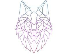 Pin By Jessica Tan On Lobo Arbol Geometric Wolf Tattoo Geometric Wolf Geometric Drawing