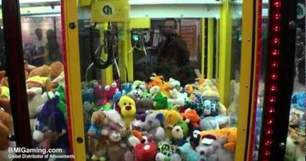 Claw Machine Plush Toys : Toy soldier cranes and inch plush crane
