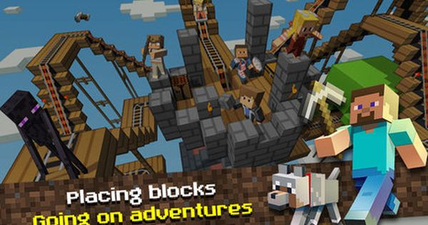 Minecraft Pocket Edition Apk V1 2 0 22 Mods 2 3 Android Game Android Mod Game Android Mod Game Pocket Edition Minecraft Android Games