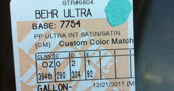 Tiffany Blue Paint Home Depot Match Paint It Pinterest