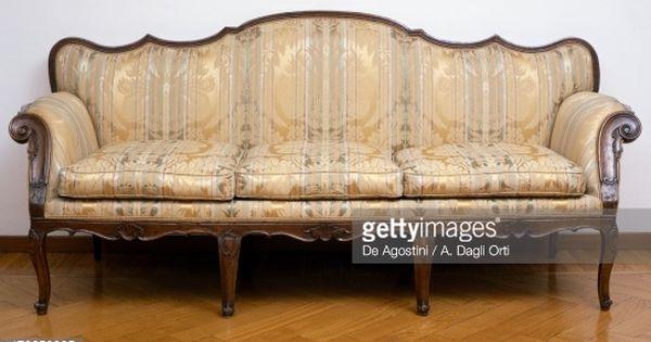 Lombard Venetian Walnut Sofa Italy 18th Century Love Seat Sofa Home Decor