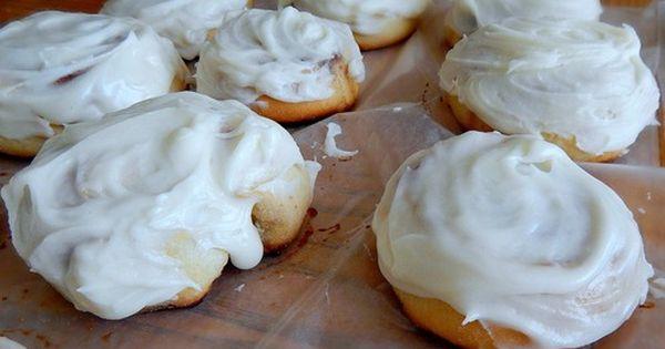 """Homemade Frosted Cinnamon Rolls, """"Taste Just Like Cinnabon ..."""