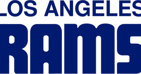 History Of The Los Angeles Rams Los Angeles Rams Word Mark Logo La Rams