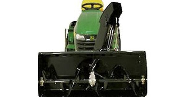 Berco 44 In Two Stage Electric Lift Snow Blower Attachment