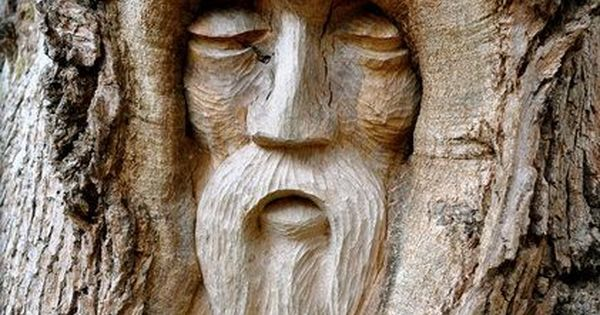 Alcohol del arbol tallas de keith jennings pinterest for Tree spirit carvings by keith jennings