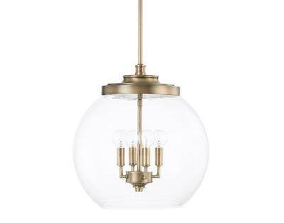 Birch Lane Heritage Eloi 1 Light Cone Pendant Reviews Birch Lane Capital Lighting Glass Globe Pendant Pendant Fixture