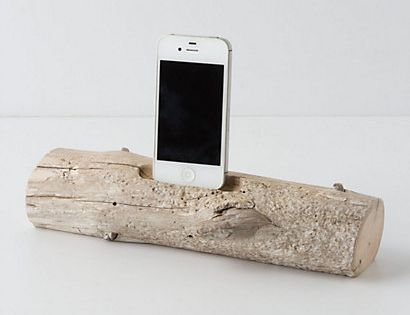 iphone driftwood charger. Umm love this