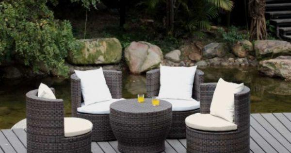 Como Limpiar Y Pintar Los Muebles De Jardin Ratan Mimbre Hierro Forjado Bambu Y Materiales Sinteticos Muebles De Jardin Muebles Muebles Con Llantas