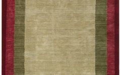 Area Rugs With Borders Solid Border Area Rugs Shop Bordered