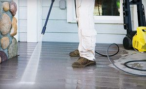 Pressure Washing For Up To 1 000 Or 2 000 Square Feet From Eazy Breezy Purifications Up To 63 Off Pressure Washing Pressure Washing Services Deck Building Cost