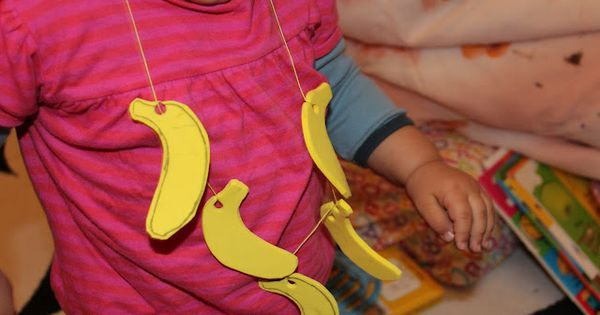 B Is For Banana Banana Necklace From Craft Foam Abc