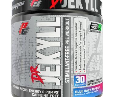 Pro Supps Dr Jekyll Stimulant Free Pre Workout Powder Blue Razz Popsicle 30 Servings Walmart Com Stimulation Vitamin Shoppe Natural Pre Workout