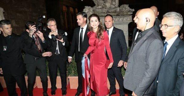 Queen Rania Receives Andrea Bocelli Humanitarian Award Queen Rania Her Majesty The Queen Lionel Richie