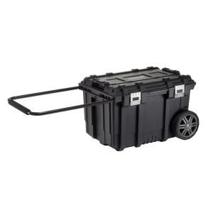 Husky 26 In Connect Rolling Tool Box Black 228224 Mobile Tool Box Tool Box Portable Tool Box