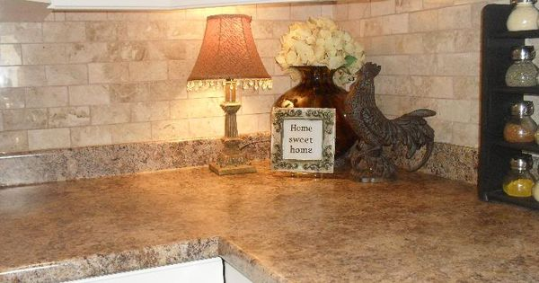 Diy Backsplash Without A Wet Saw House Pinterest