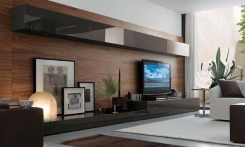 Modern Wall Units Entertainment Centers Living Room