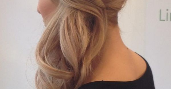 Low side pony blonde. Aloxxi Hair Color Personality Roman Goddess®. | blonde