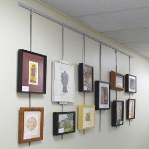 Walker System Rod Sleeves Blick Art Materials Art Hanging System Family Wall Decor Photo Wall Gallery