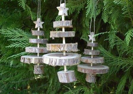 Leuke kerstboom decoratie van schijfjes boomstam kerstdecoratie maken pinterest boomstam - Tuin decoratie buitenkant ...