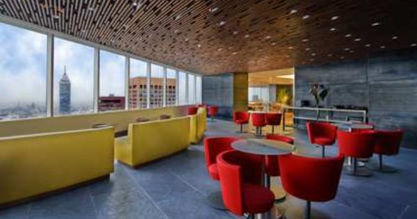 Trendy Executive Lounge At The Hilton Mexico City Reforma With