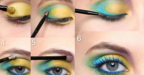 maquiller des yeux bleu make up pinterest. Black Bedroom Furniture Sets. Home Design Ideas