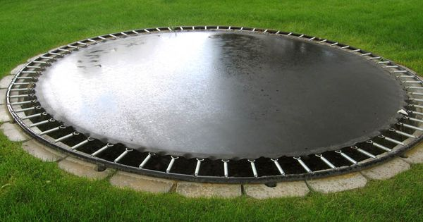 Dream house - In Ground Trampoline