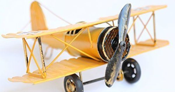 Medium Retro Iron Aircraft  Vintage Airplane Model Metal  WW2