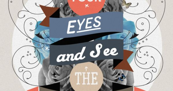Close Your Eyes and See the Beauty: The Beauty Art Print by