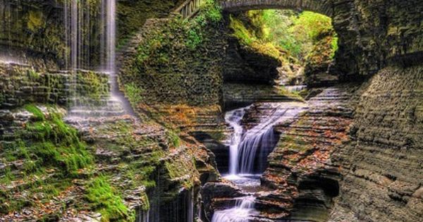 Art Watkins Glen State Park, New York travel