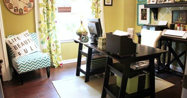 Home Office Makeover Before And After Cottage Office