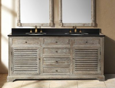 Driftwood Bathroom Vanities A Trendy Choice For A Contemporary