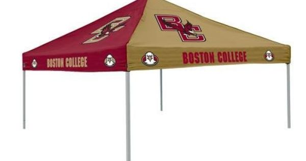Boston College Multicolor Canopy By Logo 104 49 9 Ft X 9 Ft Pop Up Two Color Polyester Tent Canopy Team Logos On A Garden Patio Furniture Patio Canopy Tent