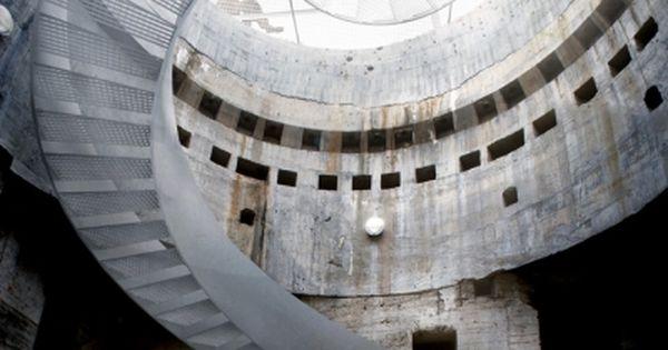 archi-versus: Blåvand Bunker Museum, Bjarke Ingels Group Treppen Stairs Escaleras