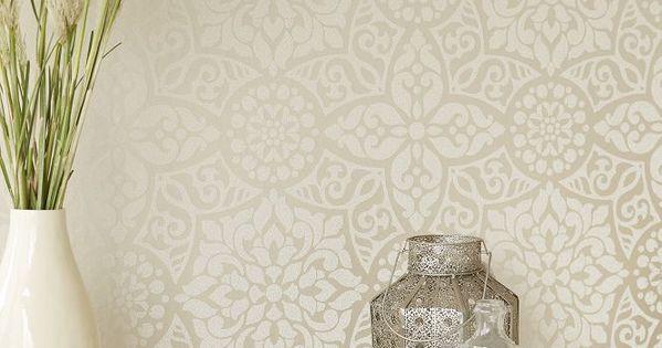 Beautiful neutral wallpaper design by eijffinger for Neutral bedroom wallpaper