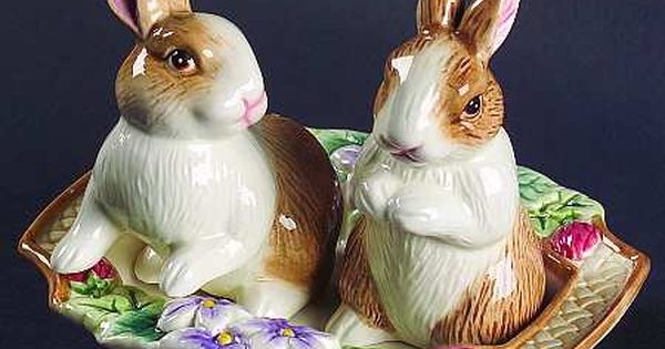 decortive ester ccents easter rabbit decor bunny.htm pin by ann miller benge on salt and pepper shakers   pie birds  salt and pepper shakers