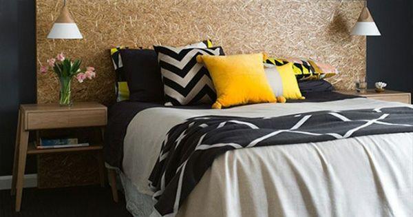 Tendance couleur chambre coucher unique jaune gris et for Tendance chambre a coucher
