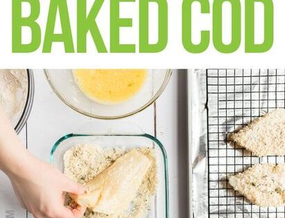 Recipe parmesan crusted baked cod baked cod protein for Cod fish protein