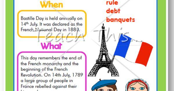 bastille day fun facts