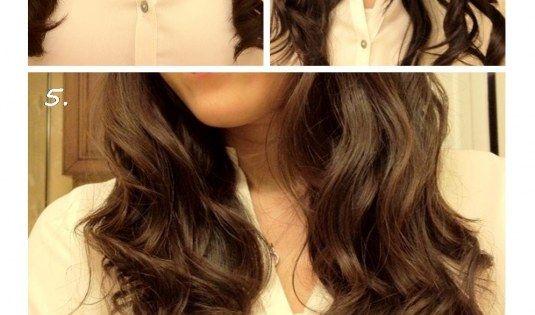 DIY No Heat Waves hair diy hair ideas diy hair hairstyles hair