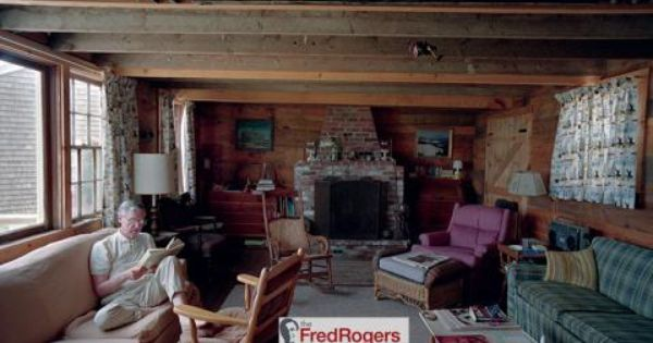 A Warm Image On A Cold Day Fred Rogers Inside His Nantucket Cottage The Fred Rogers Company Fred Rogers Nantucket Cottage Photos Of The Week