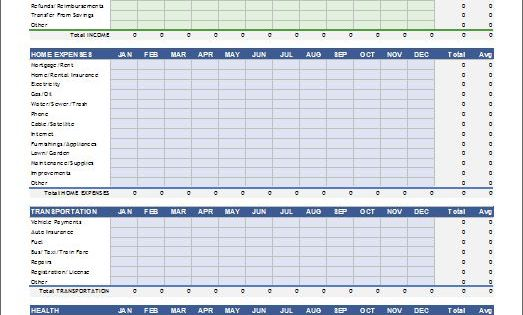 Personal budget spreadsheet template for excel 2007 for I need a spreadsheet template