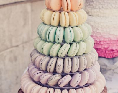 I might need to make a macaron tower