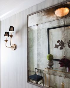 How To Use Rosettes Nice Sconce Antique Mirror Mirror Wall Antique Mirror Glass