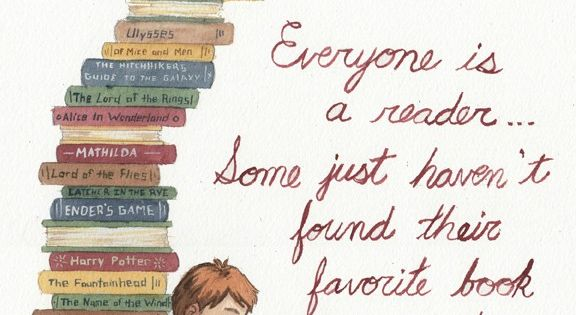 Everyone is a reader.. What is your favorite book? SO TRUE!!!!