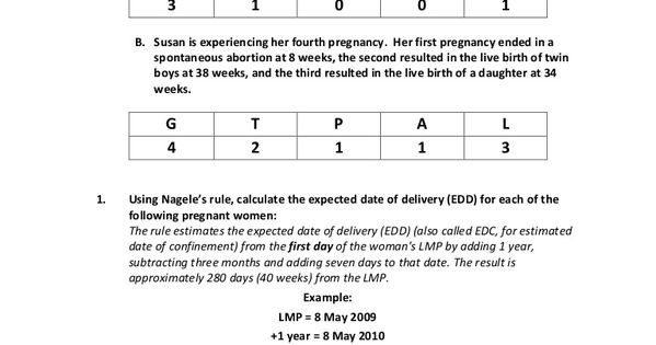Childbirth and f additional assessment